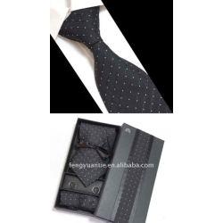 ensemble de cravate en soie