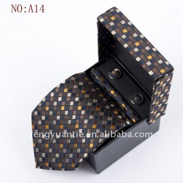 絹製ネクタイセット