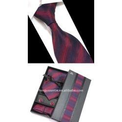 cravatta di seta set