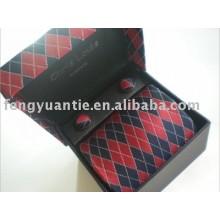 Corbata de seda, corbata, complementos para el cuello, jacquard corbata, accesorio de los hombres