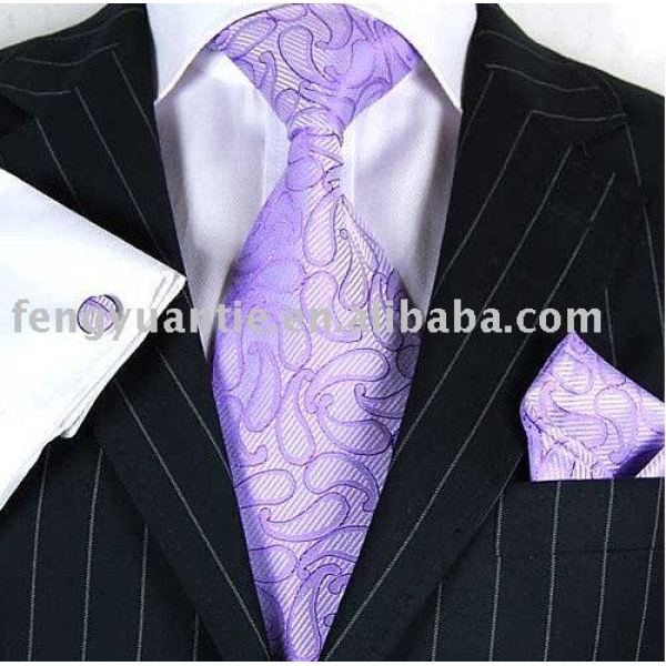 Mens cravatta di seta moda, cravatta