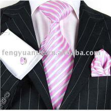 lazo de seda, corbata