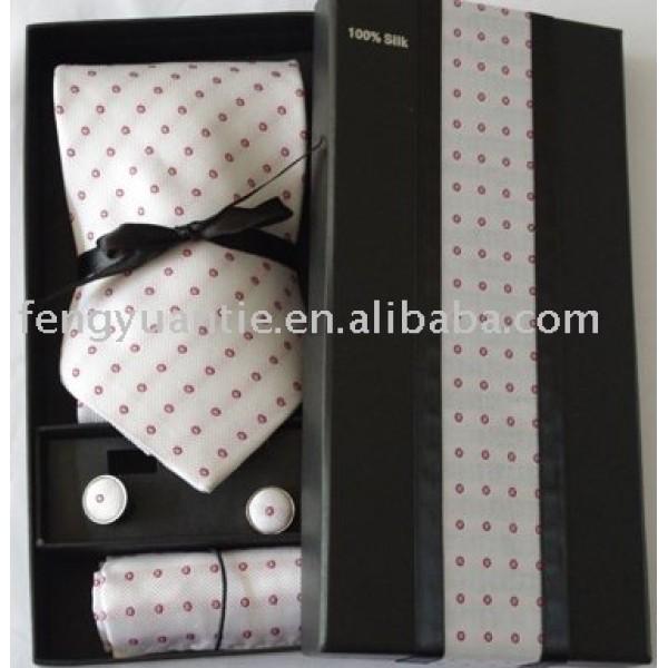 sistema tejido seda de la corbata
