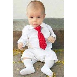 la marque en soie attache des cravates de bébé