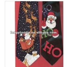 poliéster corbatas de navidad
