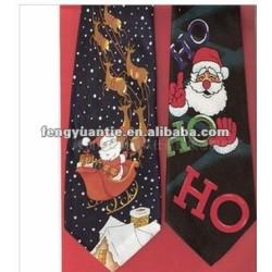 natal poliéster gravatas