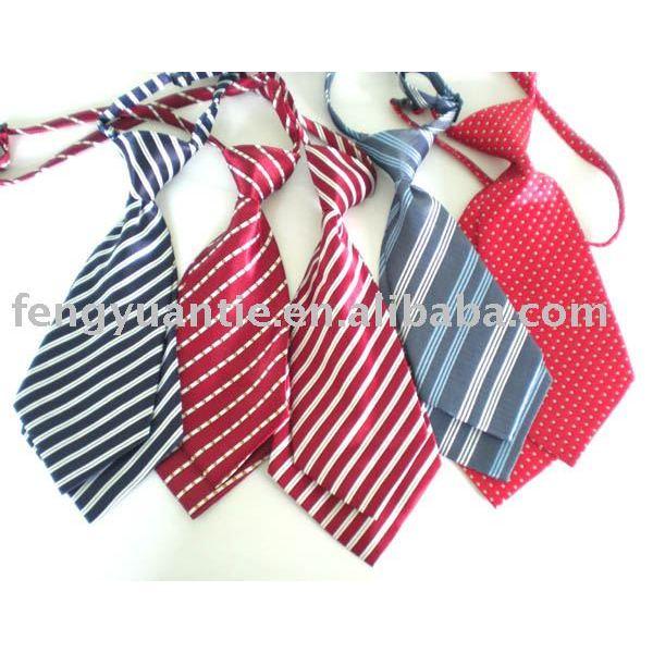 de los niños niño empate impreso corbata corbata de poliéster