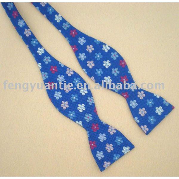 Corbatín, de seda corbata de moño, auto - atado de pajarita