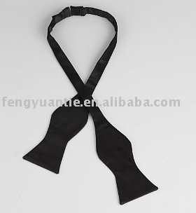 microfiber schwarzes Selbstriegel bowtie