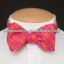 la costumbre de poliéster de color amarillo de la moda de colores productos bowties