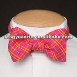 custom yellow polyester fashion colorful bowties