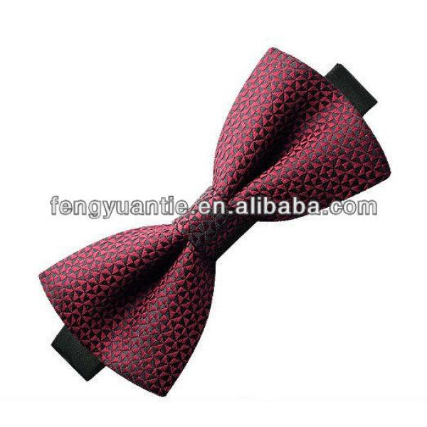 Verde 100% para hombre de seda tejido de alta calidad corbata de lazo