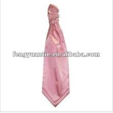 Legame normale del ascot del foulard di Scrunchie del Mens di colore rosa di bambino
