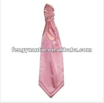Normaler Baby-RosaMens Scrunchie Krawatte Ascotriegel