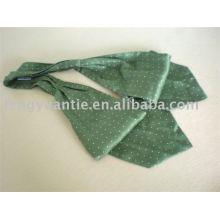 Dot foulard di seta, ascot