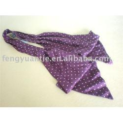 foulard en soie de point, ascot