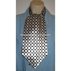 planície de maçã verde silkascot de gravata gravata