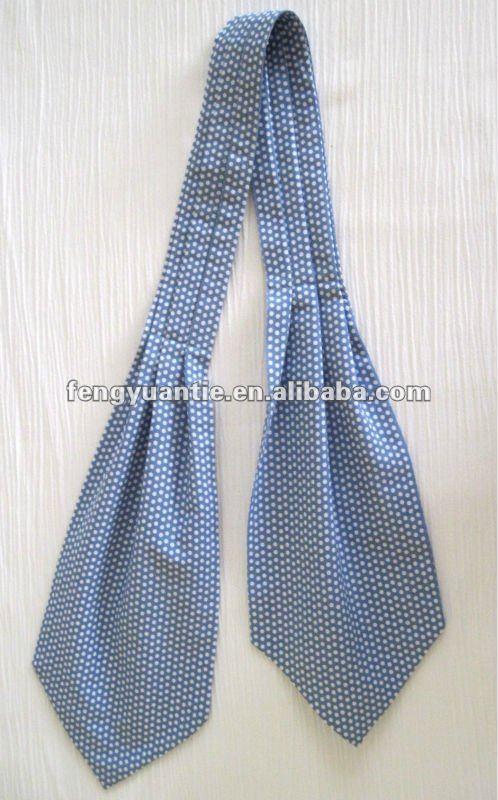 planície de maçã verde de seda gravata gravata
