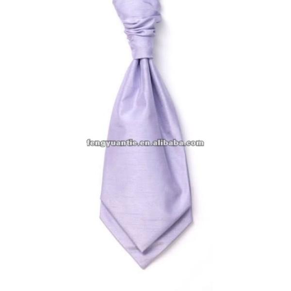 Llanura de color verde manzana pañuelos cuello/cravates ascot