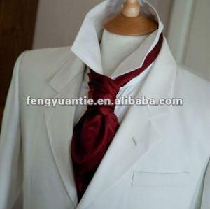 silk Krawatte Ascot-Gewohnheitskrawatte