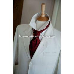 seda de gravata ascot personalizado de gravata