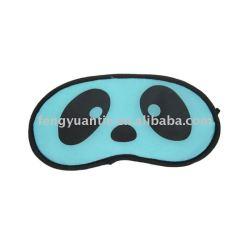 Máscara de ojo el dormir del satén, Eyeshade de la máscara de ojo del satén de la línea aérea