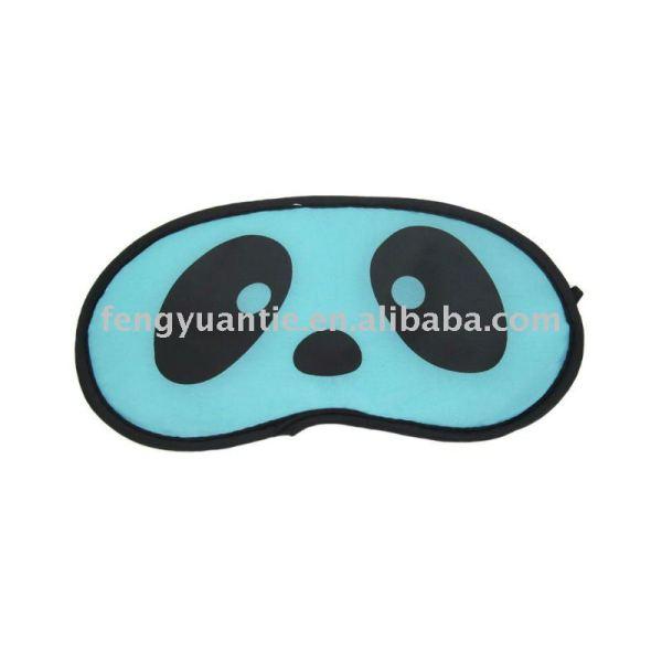 Satin-Schlafenaugen-Schablone, Flugliniensatin-Augenschablone Eyeshade