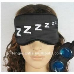 Preto barato olho máscara para dormir