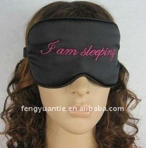 Promozionale sonno maschera per gli occhi, compagnia aerea visiera