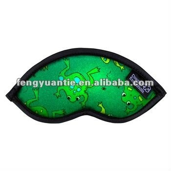 máscara promocional del satén de la línea aérea de la máscara de ojo el dormir