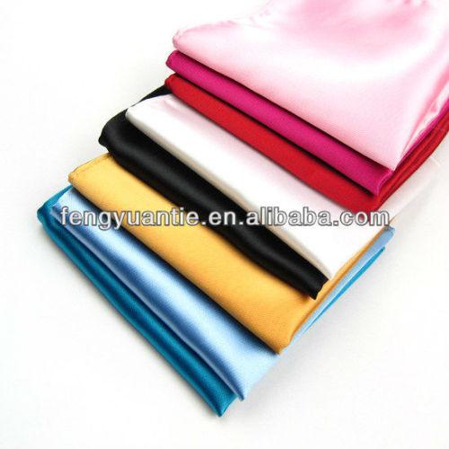 poliéster colorido pañuelo hankerchief