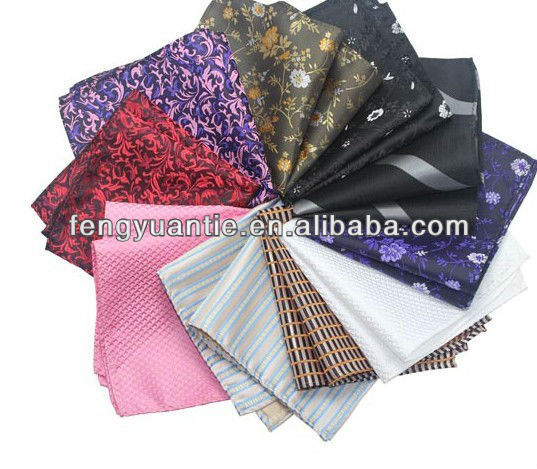 colorido pañuelo de seda hankerchief