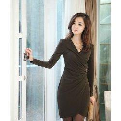 горячих продажи шелка повязку вечернее платье
