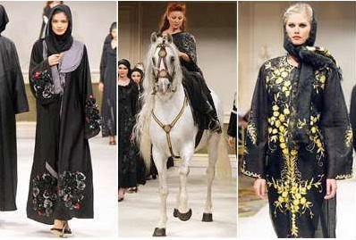 Ladys arabische Artkleider