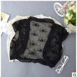 venta caliente negro de encaje de la moda de las señoras del cabo