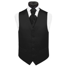 Cheap satin vest oem