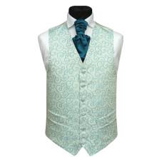 2012 fashion mens waistcoat and tie set