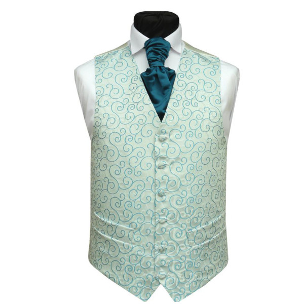 2012 fashion mens waistcoat and tie set