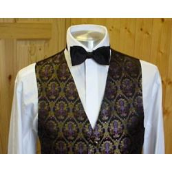 black 100 mixed wedding waistcoats for men
