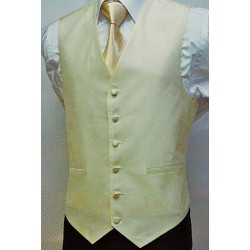 100% polyester white wedding vest oem