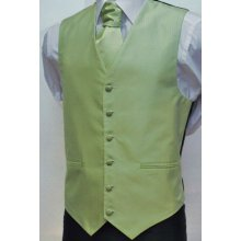 100% polyester white wedding vest tie