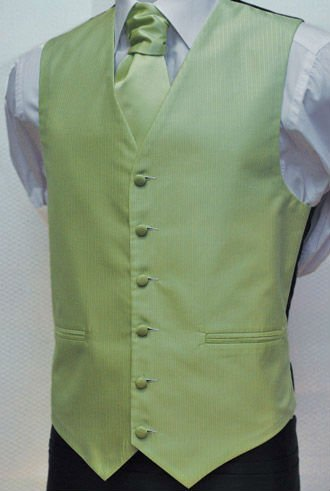 100% polyester white wedding vest tie