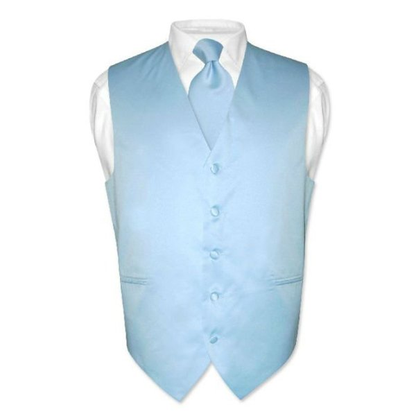Best mens wedding blue formal waistcoat