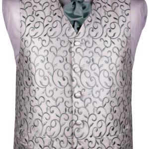 Mens wedding  green  vest