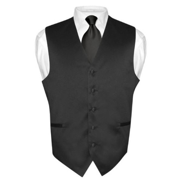 satin formal waistcoat for men