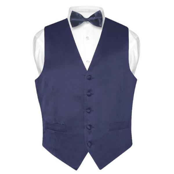 Men`s fashion black men suit vest
