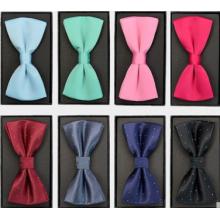 Fashion polyester satin men bowties