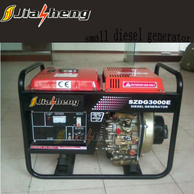 new type 60HZ air cooled electric start 2kw diesel generator sets