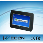 Wecon 7 inch A8 advanced industrial panel pc,LEVI 8708