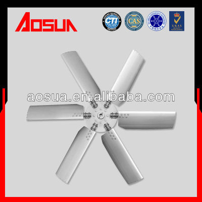 Aluminum alloy fan of cooling tower,adjustable